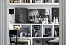 Decorating with books / Books lend character to any setting, helping make a house a home. / by Hudson Grace