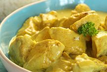 POULET CURRY CREME