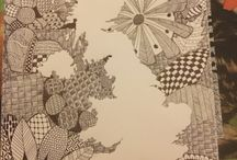 Zen pictures / Zentangle