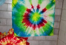 My tie-dyes.