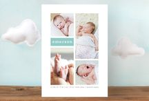 Birth Announcements / by Happy Everything Design