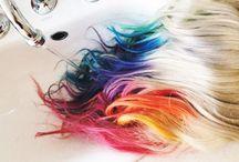 Rainbow & Unicorn hair