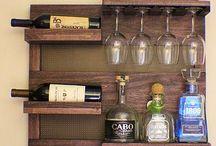 Ράφια ξύλινα τοίχου