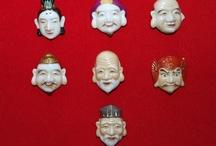 Asian Buttons / ButtonArtMuseum.com