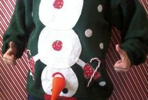 Ugly sweater party / Andy's sweater!!  / by Jennifer Thompson
