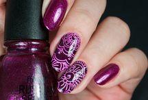 Uñas Artísticas - Nails Art / Let´s paint our nails with a touch of magic. Pintemos nuestras uñas con un toque de mágia