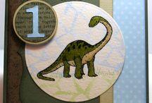 Cards--Dinosaur