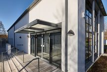 Winchester School of Art Project / Clipso System & Spigo Acoustic Wood specified for this project - available from Acoustic GRG. Contractor: Spetisbury Architect: BGS  Installer: Inter System Specialists Sw Photos By: Adam Coupe Photography Limited