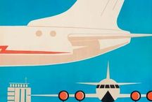 Airline posters