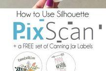 Silhouette Pix Scan