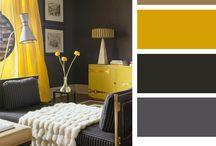 g&y / grey+yellow