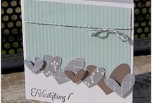 Card wedding - love