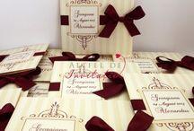 Invitatii nunta / Invitatii de nunta pentru a anunta un eveniment plin de fast