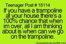 Trampoline!!!