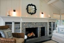 Fireplace / by Kristen Browning