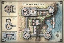 Castles / Maps of fortified locations