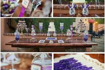 Radiant Orchid Candy Buffet