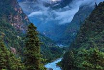 Beautiful Nepal in pictures / Pictures of Nepal, Nepali people, etc.