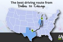 Hit the Road, Jack! / Whether you're on the road for business, leisure, or because you're moving, this board has the best tips for driving or moving cross country (including sightseeing info and more!)