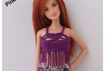 croche barbie