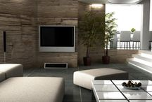 My living room / Modern, simple