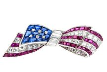 LET DEMOCRACY BLING...! / There are some amazing symbols of national pride out there--lol, in the guise of beautifully-crafted jewelry...