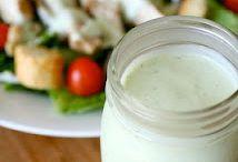 Salads, Salad Dressings, Salsas & Sauces