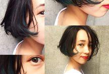 C. medium short hair