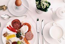 Frühstück -  petit dejeuner - breakfast