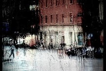 Rain. / nobody, not even the rain, has such small hands. / by Michelle Straka