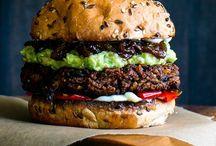 • vegan hamburger •