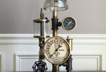 steampunk lamp