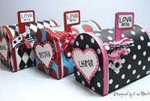 Valentine boxes / by Cynthia Nadolny