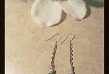 Earrings by Becky
