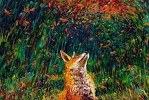 Sly Fox Trot / My love of foxes!