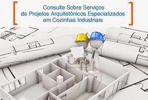Projeto funcional para cozinha industrial em São Paulo