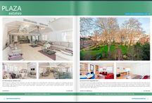 Plaza Estates Fabric Magazine Pages
