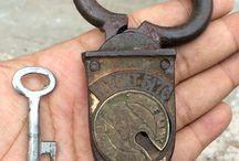 antique padlocks