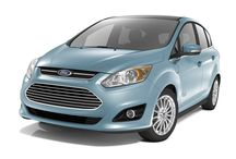 Ford C-Max Energi / Photos of the 2013 Ford C-Max Energi. One of two plug-in hybrid electric car models produced by Ford.