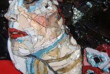 mosaici e vetrate