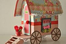 paper carvans