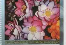 apostila de flores em eva