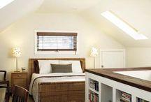 {home/studio} basement/attic