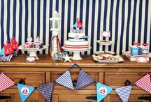 Nautical b-day party