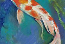 Paintings :  Fish