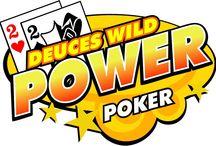 Deuces Wild Power Poker / Deuces Wild è un power poker giocato su 4 mani, che a ogni vincita permette al giocatore di decidere se incassare o raddoppiare e presenta una particolarità: i 2 fungono da jolly, sostituendo le carte che servono per ottenere una combinazione vincente. Un'altra particolarità: cinque carte uguali costituiscono una combinazione pagata.