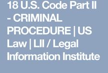 "Criminal Procedure / 18 U.S. Code Part II ""A man who is his own lawyer has a fool for a client"""
