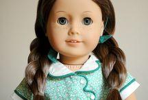 Beautiful Custom American Girl Dolls / Custom American Girl dolls created by changing wigs, eyes, or repainting. / by ✿ Renee Adams ✿