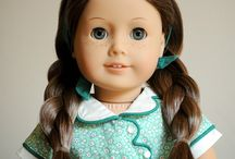Beautiful Custom American Girl Dolls / Custom American Girl dolls created by changing wigs, eyes, or repainting.