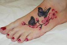 Tatuaże na stopach